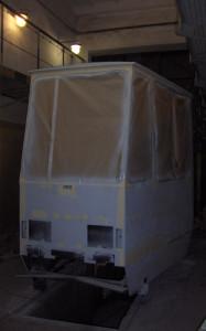kabina 105 - surowa