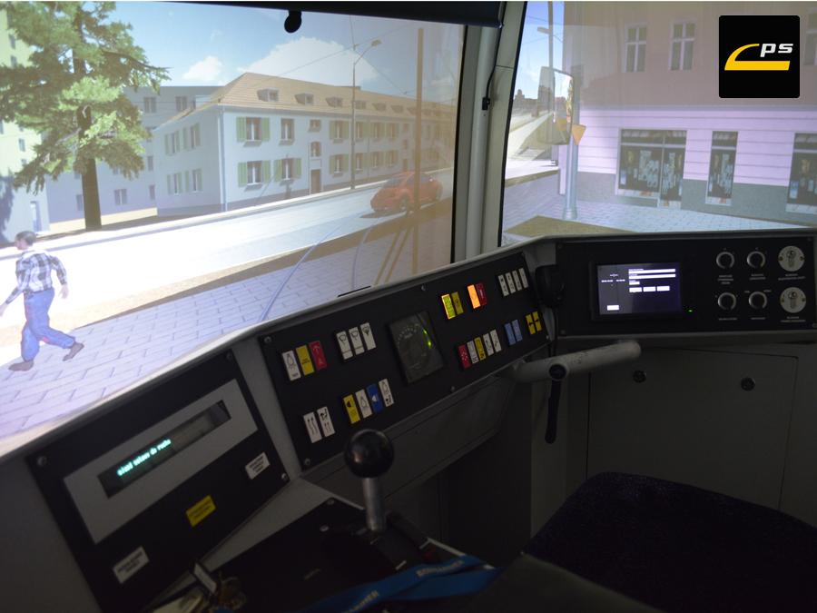 Widok wnętrza kabiny