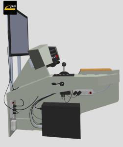 Model 3D symulatora PS-TRAM